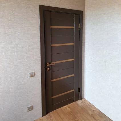 Установка дверей в частном доме | Деревня Давыдово