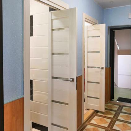 Установка складных дверей в квартире | Королев